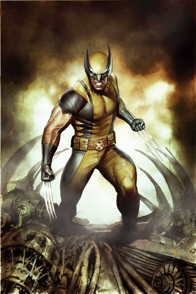 Savage Wolverine #3 (Granov Cover)