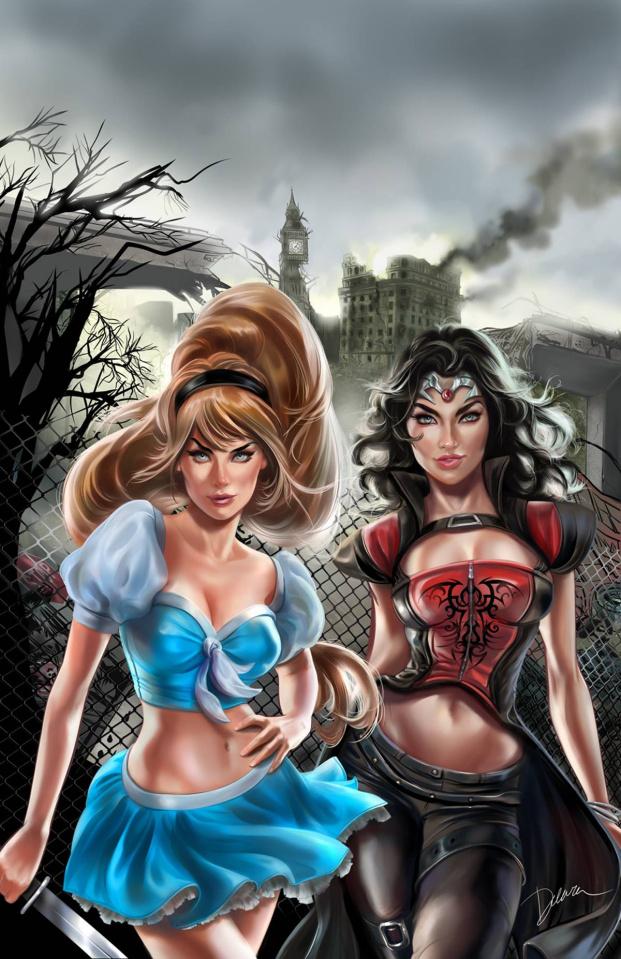 Grimm Fairy Tales: Cinderella #1 (Delara Cover)