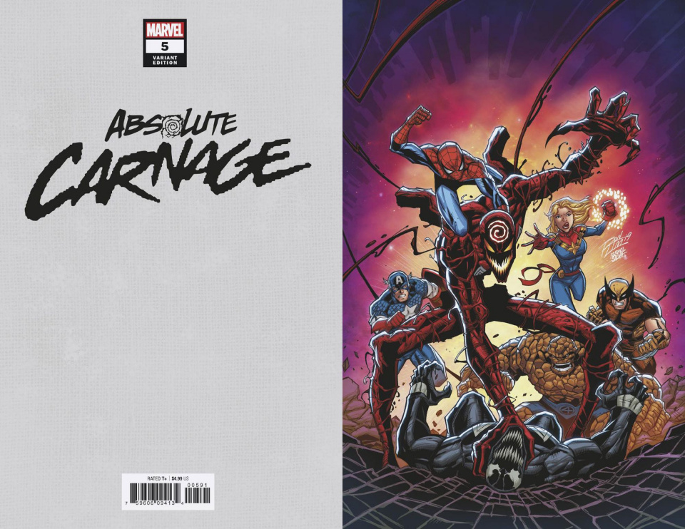 Absolute Carnage #5 (Ron Lim Virgin Cover)