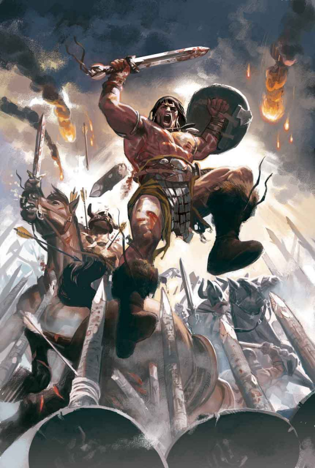 Conan the Barbarian #1 (Acuna Cover)