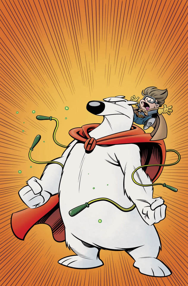 Herobear and The Kid 2016 Fall Special #1 (10 Copy Cover)