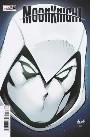 Moon Knight #1 (Nauck Headshot Cover)
