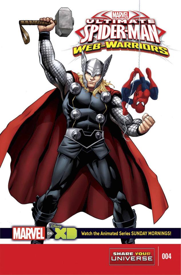 Marvel Universe: Ultimate Spider-Man - Web Warriors #4