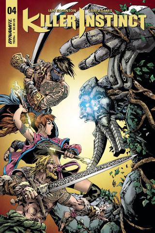 Killer Instinct #4 (Lau Cover)