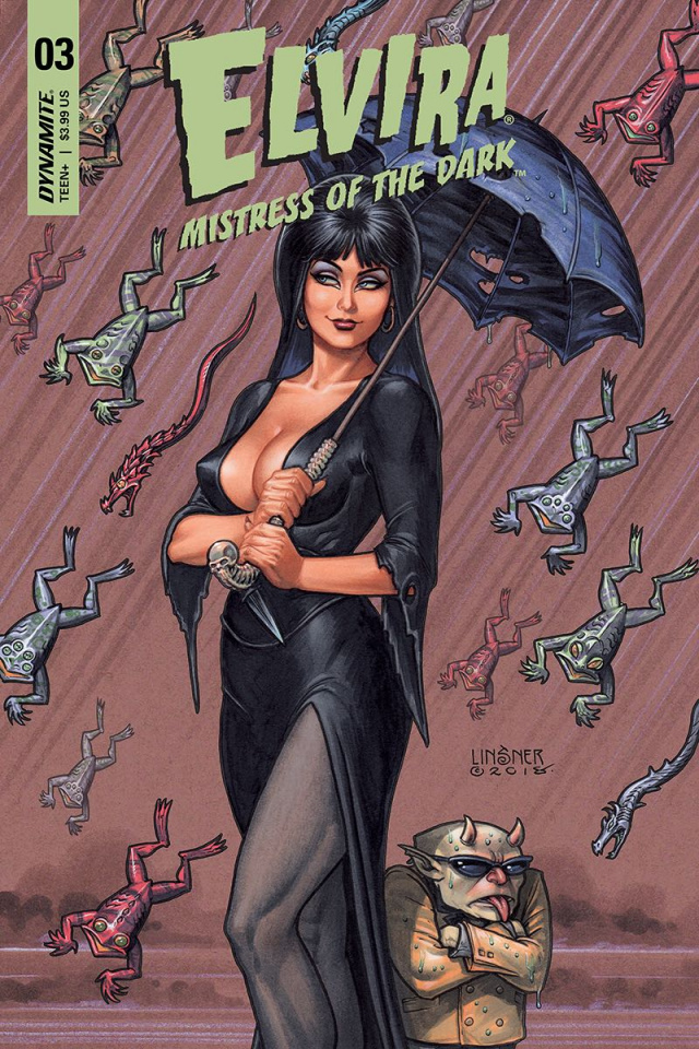 Elvira: Mistress of the Dark #4 (Linsner Cover)