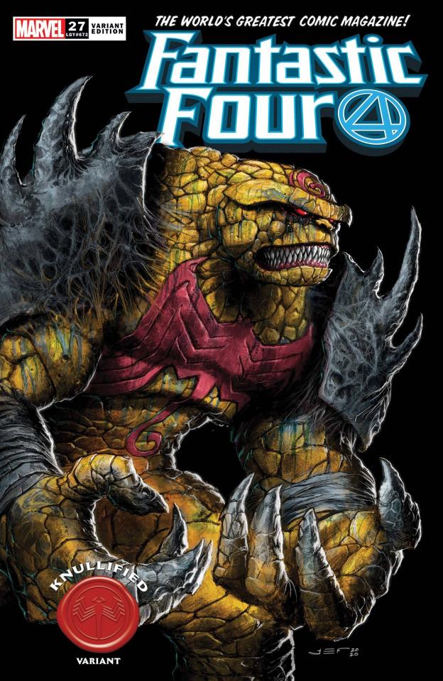 Fantastic Four #27 (Ferreyra Knullified Cover)