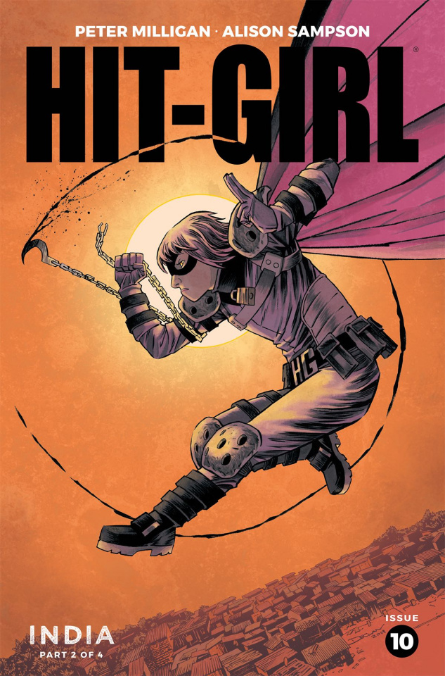 Hit-Girl, Season Two #10 (Shalvey Cover)
