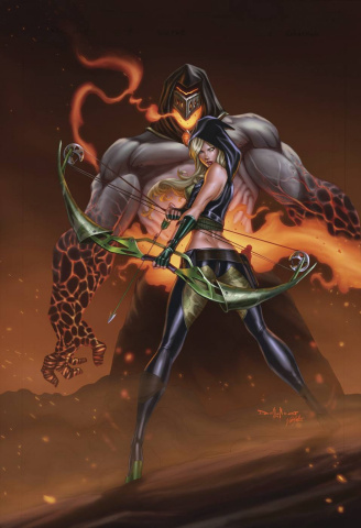 Grimm Fairy Tales: Realm War #9 (Qualano Cover)