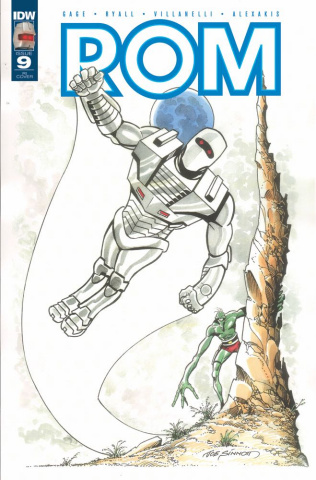 ROM #9 (10 Copy Cover)