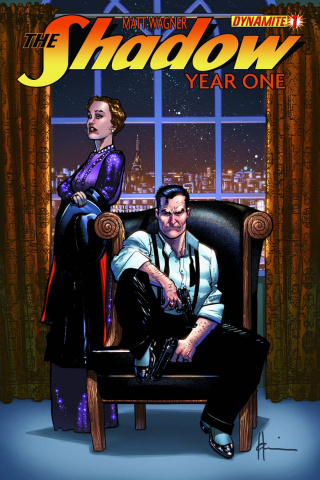 The Shadow: Year One #1 (Chaykin Cover)