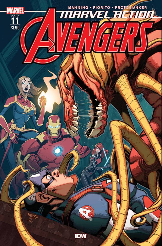 Marvel Action: Avengers #11 (Fiorito Cover)