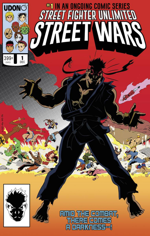 Street Fighter Unlimited #1 (10 Copy Homage Cover)