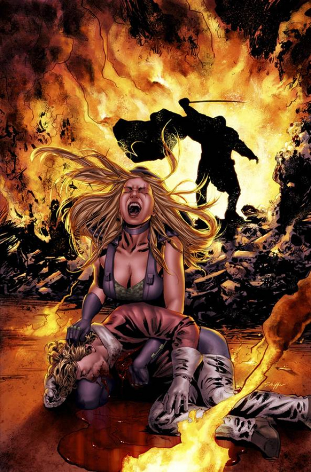 Grimm Fairy Tales: Robyn Hood - The Legend #4 (Triano Cover)