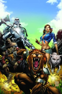 Grimm Fairy Tales: Oz #2 (Spay Cover)