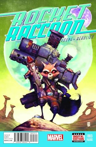 Rocket Raccoon #3 (2nd Printing)