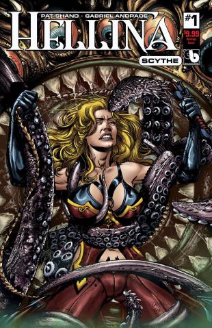 Hellina: Scythe #1 (Bondage Cover)