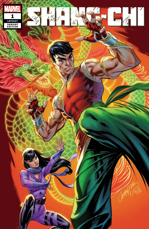 Shang-Chi #1 (J.S. Campbell Cover)