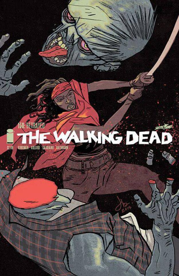 The Walking Dead #150 (Latour Cover)