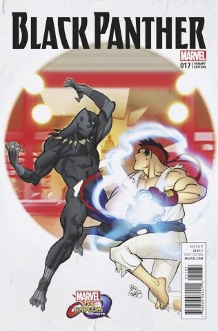 Black Panther #17 (Ferry Marvel vs. Capcom Cover)