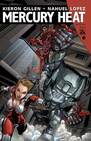 Mercury Heat #6 (Excessive Force Cover)