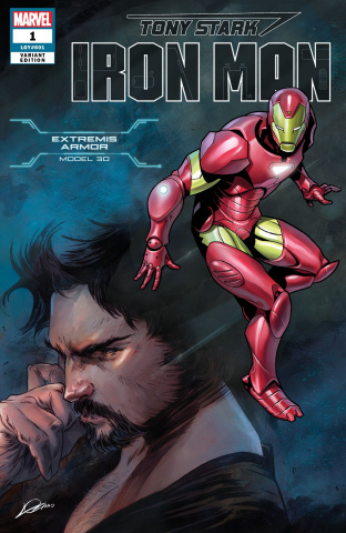 Tony Stark: Iron Man #1 (Adi Armor Cover)