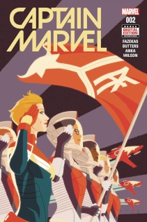Captain Marvel #2 (Anka 2nd Printing)