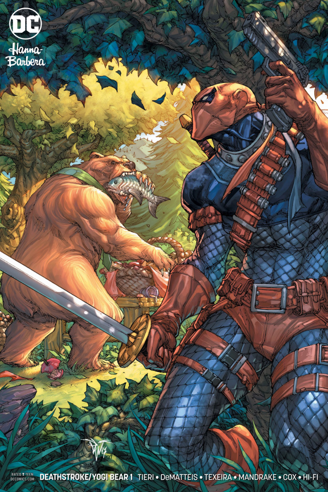 Deathstroke / Yogi Bear Special #1 (Variant Cover)