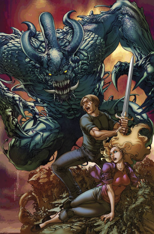 Grimm Fairy Tales #110 (Tolibao Cover)