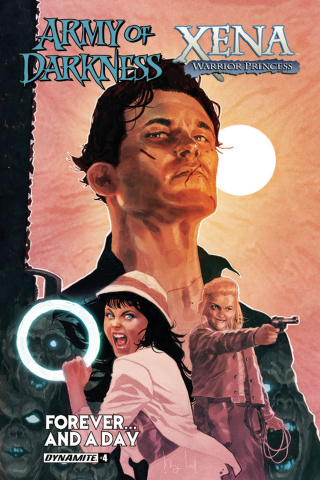 Army of Darkness / Xena: Forever... And a Day #4 (Caldwell Cover)