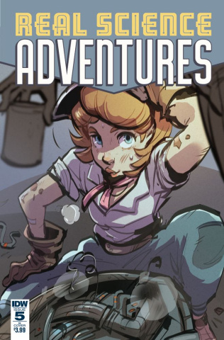 Real Science Adventures: The Flying She-Devils #5 (Cover B)