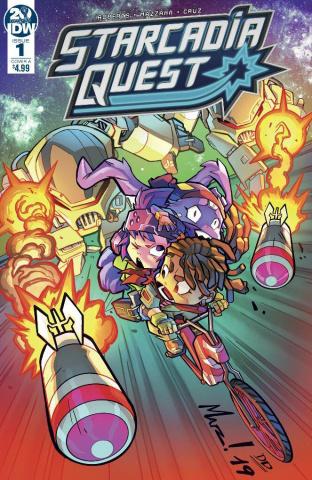 Starcadia Quest #1 (Mazzara Cover)