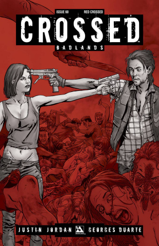 Crossed: Badlands #60 (Red Crossed Cover)