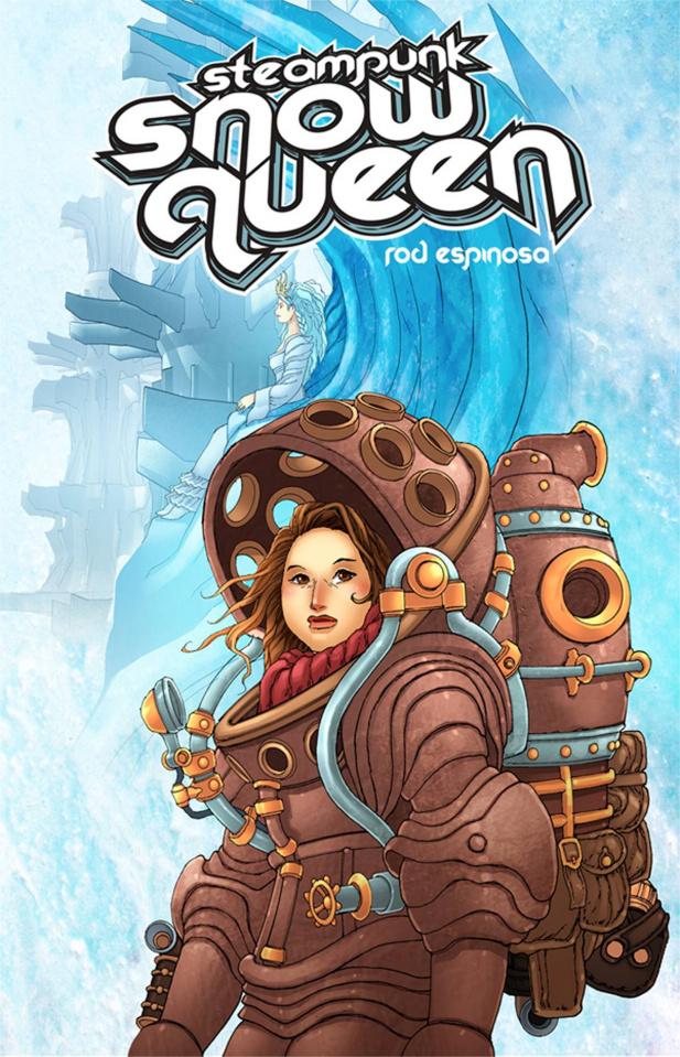 Steampunk Snow Queen #2