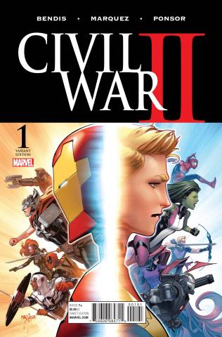 Civil War II #1 (Marquez Cover)