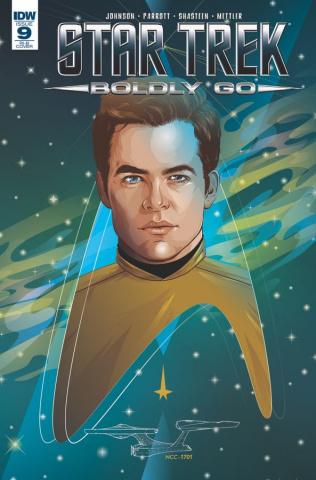 Star Trek: Boldly Go #9 (25 Copy Cover)