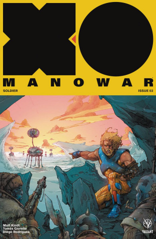 X-O Manowar #3 (Rocafort Cover)