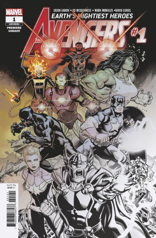 Avengers #1 (Premiere Cover)