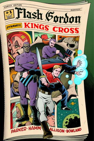 Flash Gordon: Kings Cross #1 (Langridge Cover)