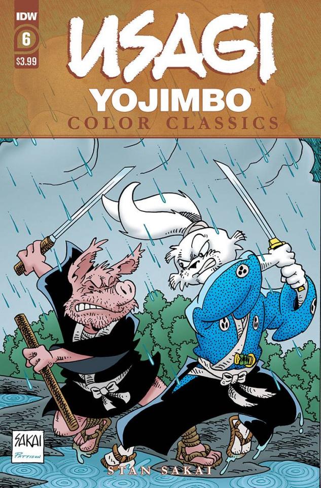 Usagi Yojimbo: Color Classics #6 (Sakai Cover)