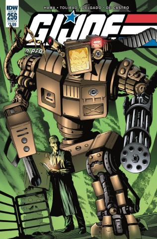G.I. Joe: A Real American Hero #256 (Joseph Cover)