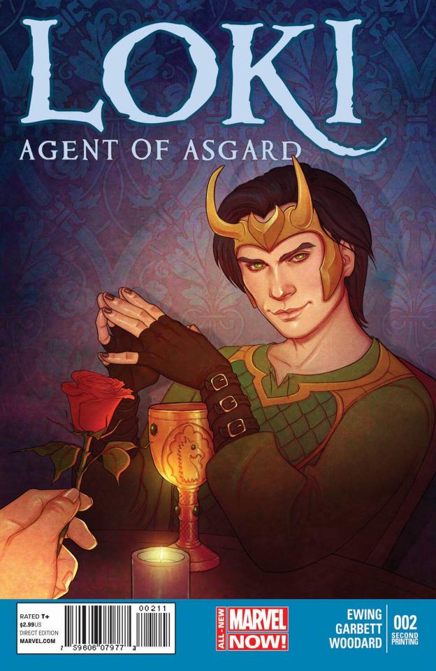 Loki: Agent of Asgard #2 (2nd Printing)