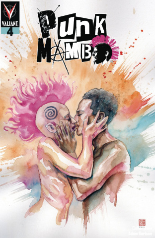 Punk Mambo #4 (Mack Cover)