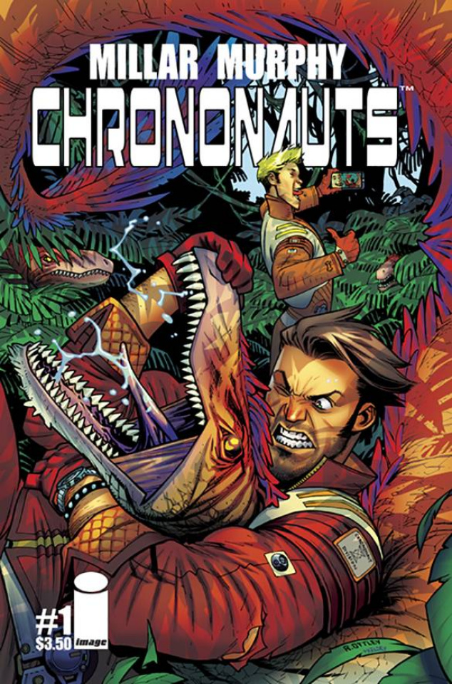 Chrononauts #1 (Ottley Cover)