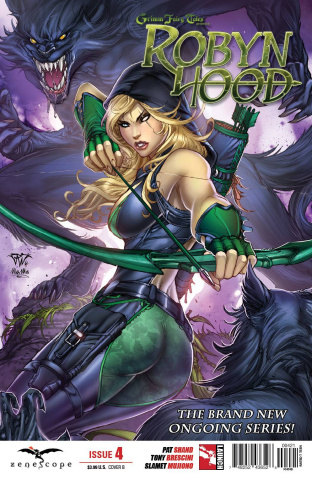 Grimm Fairy Tales: Robyn Hood #4 (Pantalena Cover)