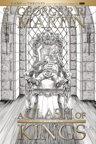 A Game of Thrones: A Clash of Kings #3 (10 Copy Cover)