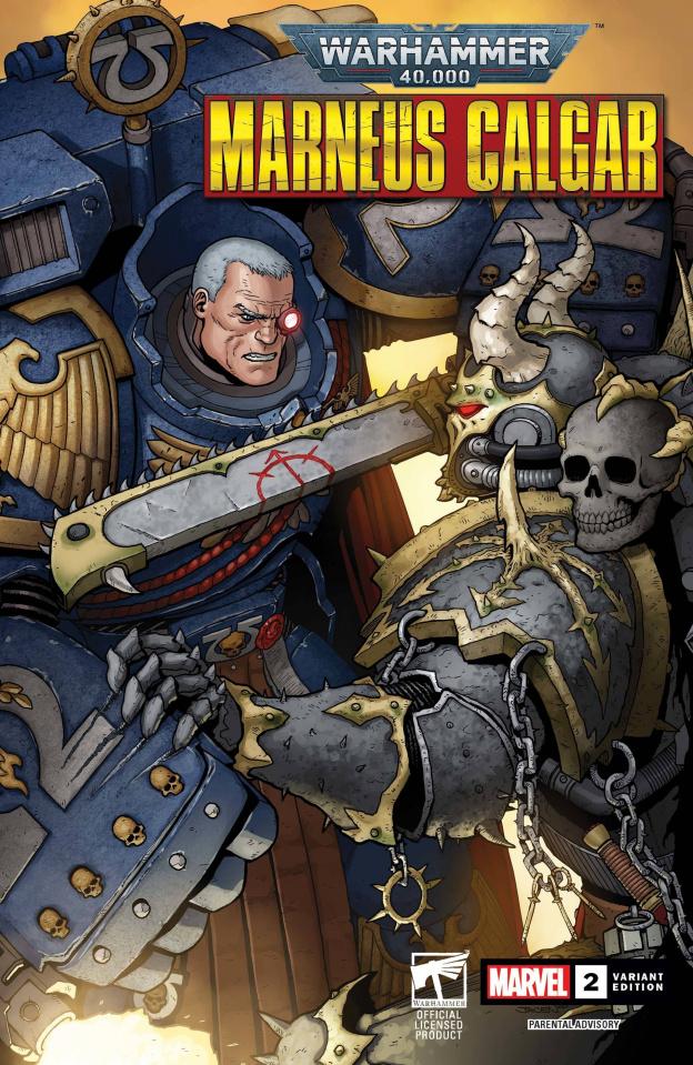 Warhammer 40,000: Marneus Calgar #2 (Burrows Cover)