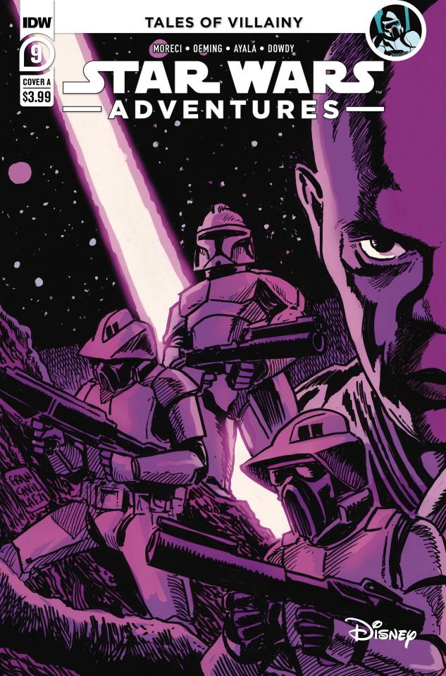 Star Wars Adventures #9 (Francavilla Cover)