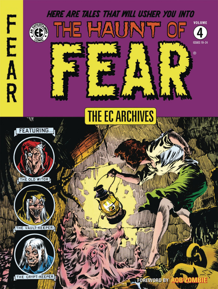 The EC Archives: The Haunt of Fear Vol. 4