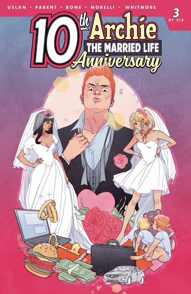Archie: The Married Life - 10 Years Later #3 (Sauvage Cover)