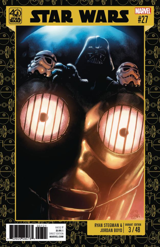 Star Wars #27 (Star Wars 40th Anniversary Cover)